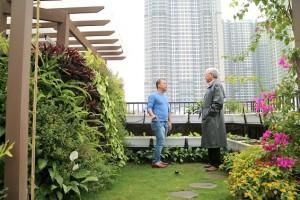 """Giải pháp thiết kế """"Vườn trên mái"""""""