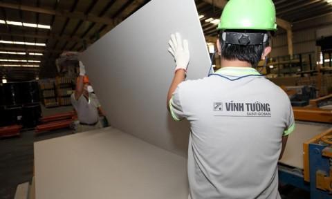 Thị trường vật liệu xây dựng: Trần, tường thạch cao được ưa chuộng