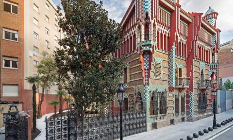 Ngôi nhà đầu tiên của kiến trúc sư Antoni Gaudí