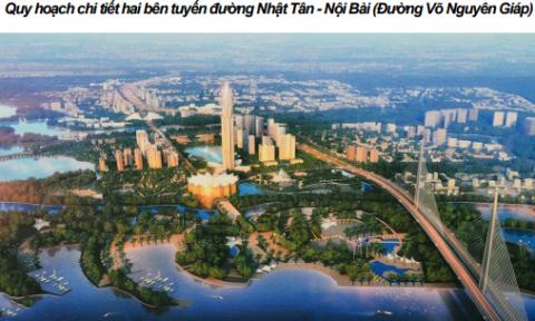Phát triển phía Bắc sông Hồng Hà Nội – Quy hoạch & Định hướng