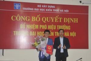 Công bố Quyết định bổ nhiệm Phó Hiệu trưởng Trường Đại học Kiến trúc Hà Nội