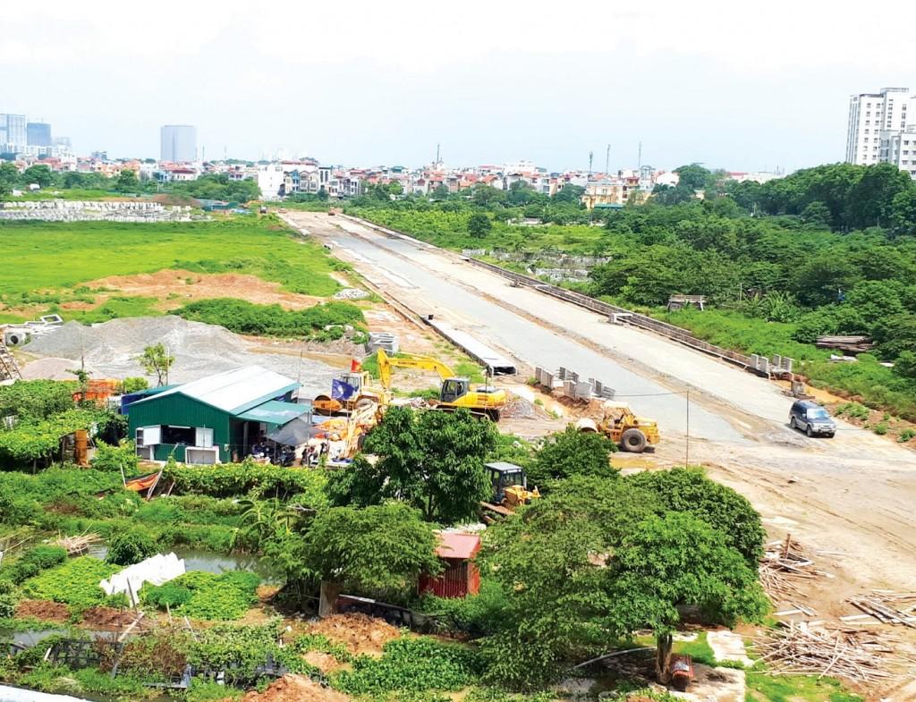 Xây dựng mở rộng hệ thống hạ tầng giao thông kết nối tại Đô thị vệ tinh Phú Xuyên (Hà Nội)
