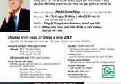 Mời tham dự diễn đàn Kiến trúc Việt Nam – Nhật Bản 2018