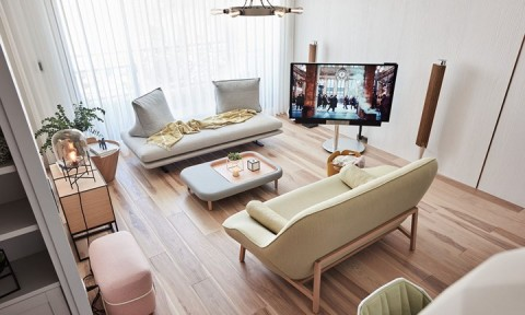 Không thể rời mắt khỏi căn hộ có nội thất màu pastel