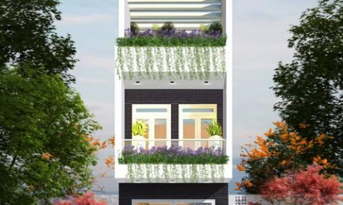Tư vấn xây nhà ba tầng 850 triệu ở Sài Gòn