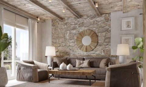 Căn nhà dành cho 6 người được xây dựng bằng vật liệu tự nhiên