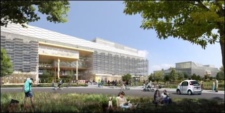 Google và BIG tiết lộ kế hoạch xây dựng khuôn viên công nghệ xanh