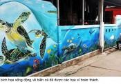 AkzoNobel đồng hành cùng dự án vẽ tranh vì biển đảo quê hương