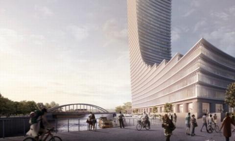 Kiến trúc sư David Chipperfield tiết lộ thiết kế tòa tháp cao nhất Hamburg, Đức