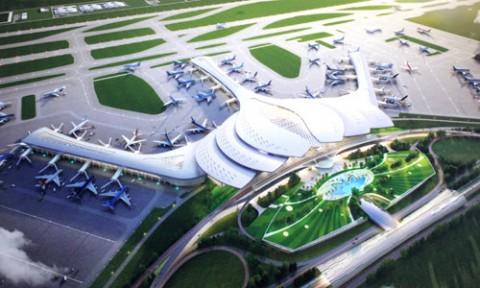 Bộ Giao thông quyết định chọn thiết kế hoa sen cho sân bay Long Thành