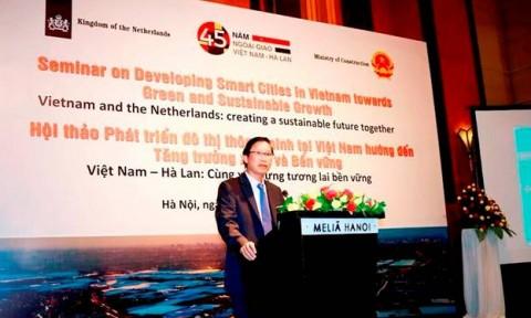 Việt Nam – Hà Lan: Hợp tác phát triển đô thị thông minh