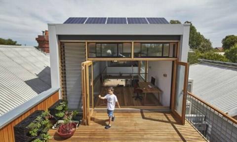Biến đổi nhà cũ ở Melbourne thành không gian tràn đầy ánh sáng tự nhiên