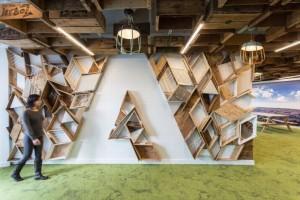 Cải tạo trụ sở của hãng Adobe thành một môi trường tràn đầy năng lượng sáng tạo