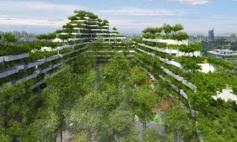 Ban hành 24 chỉ tiêu xây dựng đô thị tăng trưởng xanh