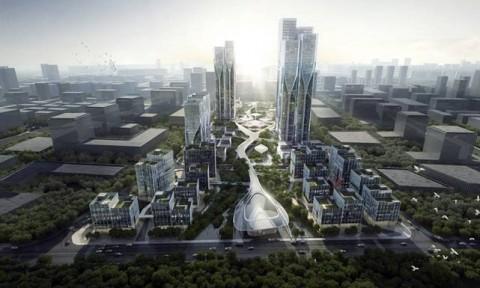 """Dự án TP Vanke Tianfu Cloud lấy cảm hứng từ """"Đám mây công nghệ"""""""