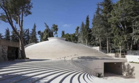 Nhà tưởng niệm liệt sỹ bằng gạch nhôm ở Israel