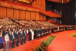 Tổng Bí thư Nguyễn Phú Trọng dự Lễ kỷ niệm 60 năm ngày truyền thống ngành Xây dựng Việt Nam