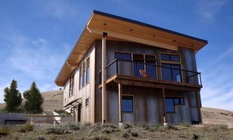 Ngôi nhà sử dụng năng lượng mặt trời thụ động chống chọi với thời tiết khắc nghiệt ở Montana