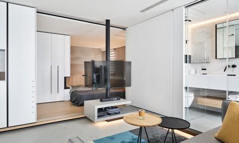 Nội thất đơn giản mà tiện lợi trong căn hộ 46m2