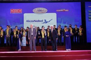 AkzoNobel Việt Nam 5 năm liên tiếp giành Giải thưởng Rồng vàng về thành tựu phát triển bền vững