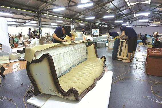 Các sản phẩm được chế tác tại xưởng của Sofia