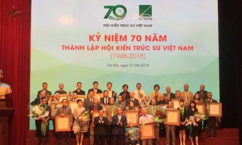 Hội Kiến trúc sư Việt Nam: 70 năm đồng hành cùng đất nước