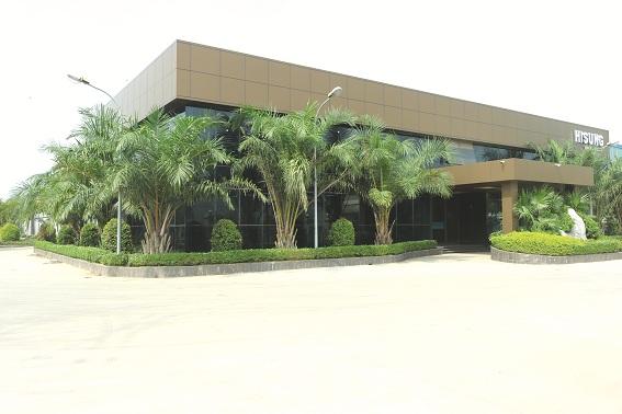 Nhà máy sản xuất của Hisung Door tại Bình Xuyên, Vĩnh Phúc