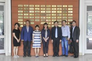 Hiệu trưởng trường ĐH Kiến trúc HN làm việc với trường ĐH Curtin (Úc)