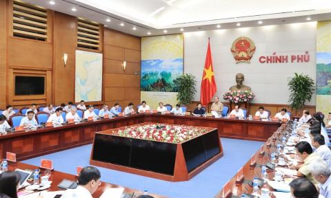 Thủ tướng làm việc với các tỉnh ĐBSCL về chống sạt lở