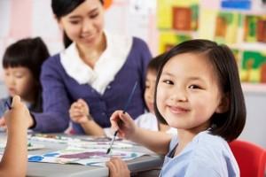Nhiều học sinh tiểu học có vốn ngoại ngữ ngang chuẩn… đại học