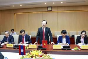 Đẩy nhanh tiến độ Dự án Nhà Quốc hội Lào