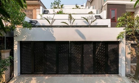 Nét độc đáo trong ngôi nhà có mái hình ruộng bậc thang