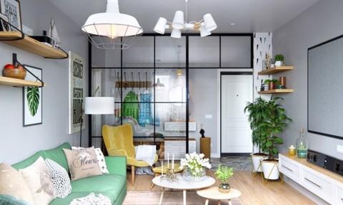 Tạo điểm nhấn siêu xinh với nội thất xanh lá cây