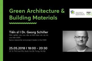 """Tọa đàm """"Kiến trúc xanh và Vật liệu xây dựng"""""""