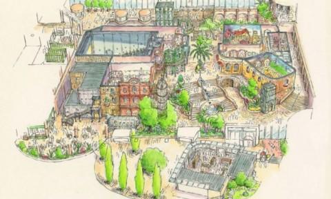 Công viên Ghibli- tái hiện những tuyệt tác hoạt hình Nhật Bản