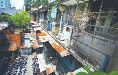 Việc tập trung dân cứ đông, với nhiều nhu cầu sinh sống và sinh kế khác nhau cần áp dụng giải pháp hoàn hợp 3 nhà để giải quyết vướng mắc trong cải tạo chung cư cũ tại TPHCM