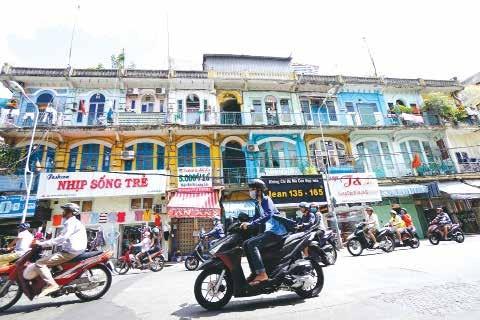 Chung cư 440 Trần Hưng Đạo, quận 5 đã được sở Xây dựng TPHCM kết luận là chung cư cũ nguy hiểm