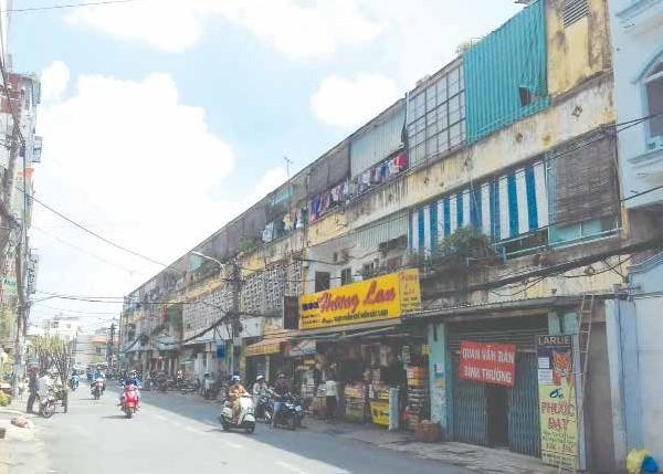 Hiện trạng cơi nới và xuống cấp các không gian sống tại chung cư Nguyễn Thiện Thuật, Quận 3, TPHCM