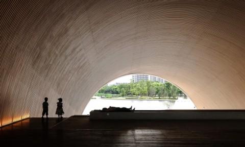 Nhà hát Poly Thượng Hải – Trò chơi ánh sáng của Tadao Ando