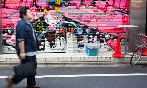 AkzoNobel giúp bạn loại bỏ bức Graffiti nhờ sơn bột Interpon Ec