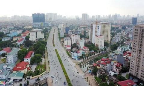 Hàng chục nghìn căn hộ chen chúc đợi đường vành đai 9.400 tỷ ở Hà Nội