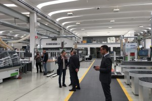 Ban giám đốc Sofia đến thăm nhà máy Biesse tại Ý