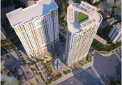 Căn hộ VC2 Golden Heart tầm nhìn panorama giá từ 22,8 triệu một m2