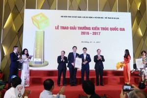 Thông báo số 1 về Giải thưởng Kiến trúc Quốc gia năm 2018