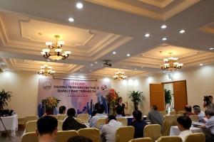 Lễ ra mắt chương trình Đào tạo Thạc sĩ Quản lý đô thị
