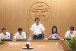 """Hà Nội: Tạo điều kiện thuận lợi nhất cho doanh nghiệp, nghiêm cấm """"om"""" hồ sơ"""