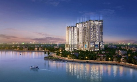 """Khách ngoại """"mê"""" căn hộ cho thuê ven hồ Tây, tiềm năng lớn cho nhà đầu tư thức thời"""
