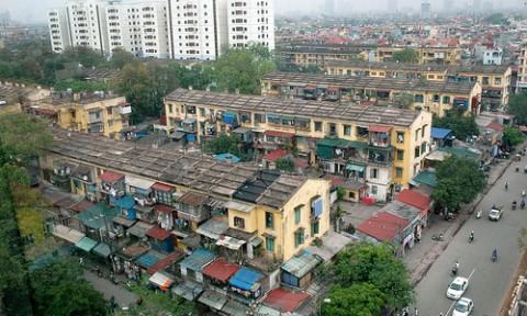 Khu tập thể cũ Kim Liên chuẩn bị được cải tạo, xây dựng thành nhà cao tầng