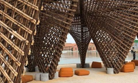 VTN architects đưa cấu trúc tre đến triển lãm Venice Biennale
