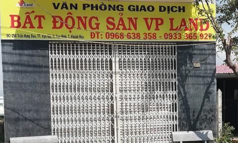 Dân đầu cơ đất tháo chạy khỏi Bắc Vân Phong